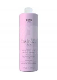 Очищающий шампунь для тонких волос Lisap Fashion Light 1000 мл.