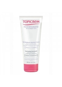Мягкий очищающий гель для тела и волос Topicrem 200 мл.