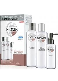 Набор средств Nioxin (System 3) 300+300+100 мл.