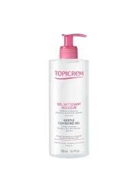 Мягкий очищающий гель для тела и волос Topicrem 500 мл.