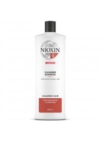 Шампунь для окрашенных волос Nioxin (System 4) 1000 мл.