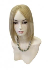 Полупарик Василиса из натуральных волос без пробора (30 см)