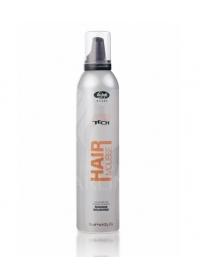 Мусс для укладки волос нормальной фиксации Lisap High Tech 300 мл.