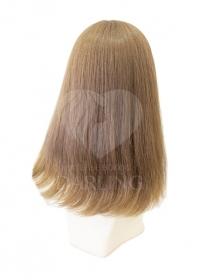 Полупарик Инесса из натуральных волос с пробором (40 см)