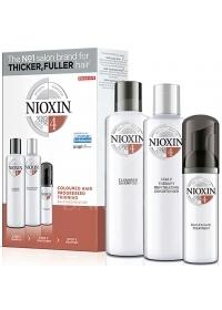 Набор средств Nioxin (System 4) 300+300+100 мл.