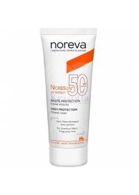 Крем для чувствительной кожи SPF 50 Noreva Noresun 40 мл.