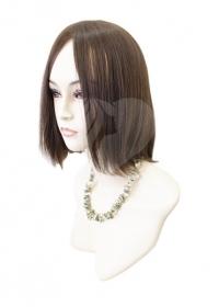 Полупарик Ванда из натуральных волос без пробора (30 см)