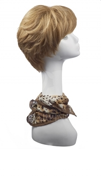 Натуральный парик Стелла (15 см)