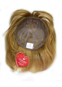 Полупарик Беатриса из натуральных волос без пробора (20 см)