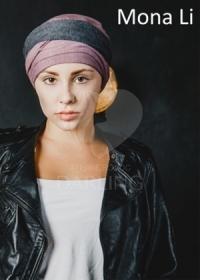 Тюрбан Мона Ли (розовый)