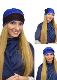 Шапка-трансформер Кэти (голубой)