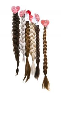 Коса имитация из натуральных волос
