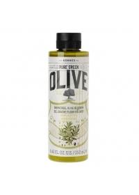 Гель для душа цветы оливы Korres Pure Greek Olive 250 мл.