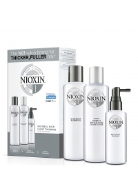 Набор средств для тонких волос Nioxin (System 1) 150+150+50 мл.