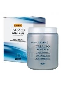 Соль для ванны с экстрактами водорослей GUAM Talasso 1000 г.