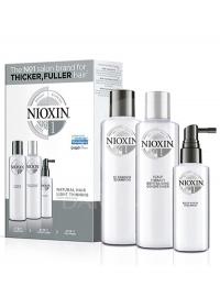 Набор средств для тонких волос Nioxin (System 1) 300+300+100 мл.