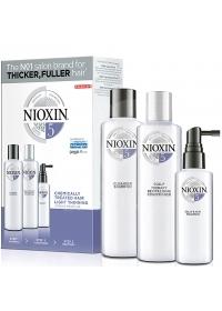 Набор средств Nioxin (System 5) 300+300+100 мл.