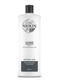 Очищающий шампунь для тонких волос Nioxin (System 2) 1000 мл.