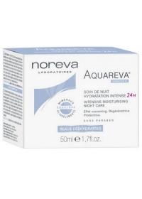 Интенсивный ночной увлажняющий уход Noreva Aquareva 50 мл.