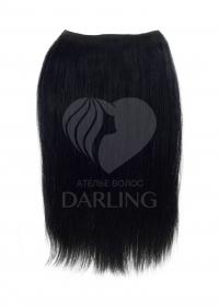 Волосы на заколках (машинный тресс) набор из 2 прядей 50 см