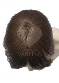 Накладка легкая из натуральных волос (25 см)