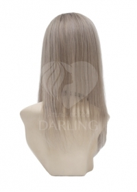 Накладка теменная из натуральных волос (40 см)