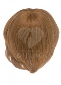 Полупарик Джина из натуральных волос с пробором (20 см)
