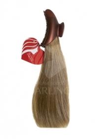 Хвост на крабике из натуральных волос (30 см)