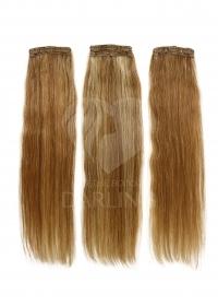 Искусственные волосы на заколках набор из 3 прядей