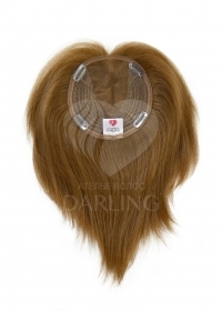 Шиньон полусфера из натуральных волос (25 см)