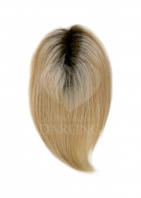 Накладка пробор на сетке из натуральных волос (25 см)