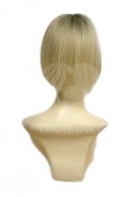 Накладка на пробор на сетке из натуральных волос (25 см)