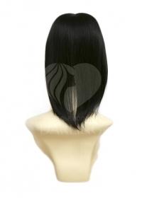 Накладка на пробор из натуральных волос (30 см) цвет 1/0