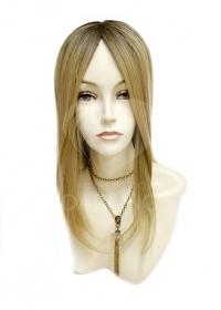Полупарик Велория из натуральных волос (30 см)