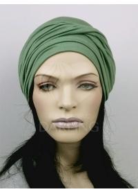 Шапочка Луиза зеленая